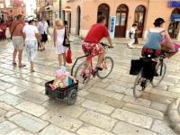 велосипед с 2 мъничета