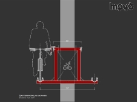 Велосипед на въжена линия