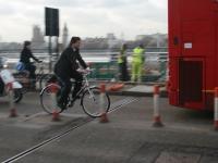 Велосипедист в Лондон