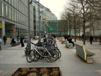 Велопаркинг в Лондон пред BBC
