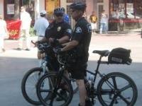 Полицаи с велосипеди