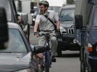Велосипедист в Москва