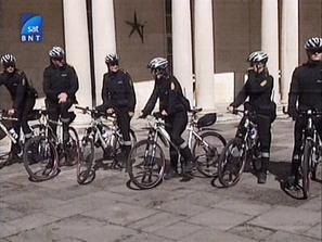 Датската полиция - и на колела