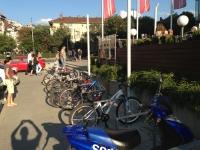 Велопаркинг - мол Сердика
