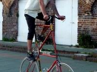 Висок велосипед